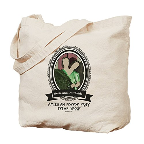 CafePress–Tattler hermanas Tote Bag–Natural gamuza de bolsa de lona bolsa, bolsa de la compra