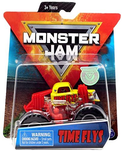 [해외]Monster Jam Hot Wheels 1:64 Scale Time Flys Yellowred / Monster Jam Hot Wheels 1:64 Scale Time Flys, Yellowred