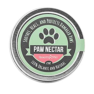 100% Organic and Natural Paw Wax Heals and Repairs Damaged Dog Paws, Dog Paw Balm 31