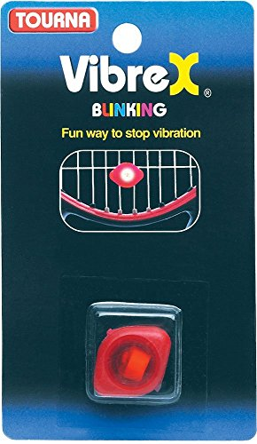 Tourna VibreX Blinking Light Kid's Tennis Vibration Dampener-Shock Absorber