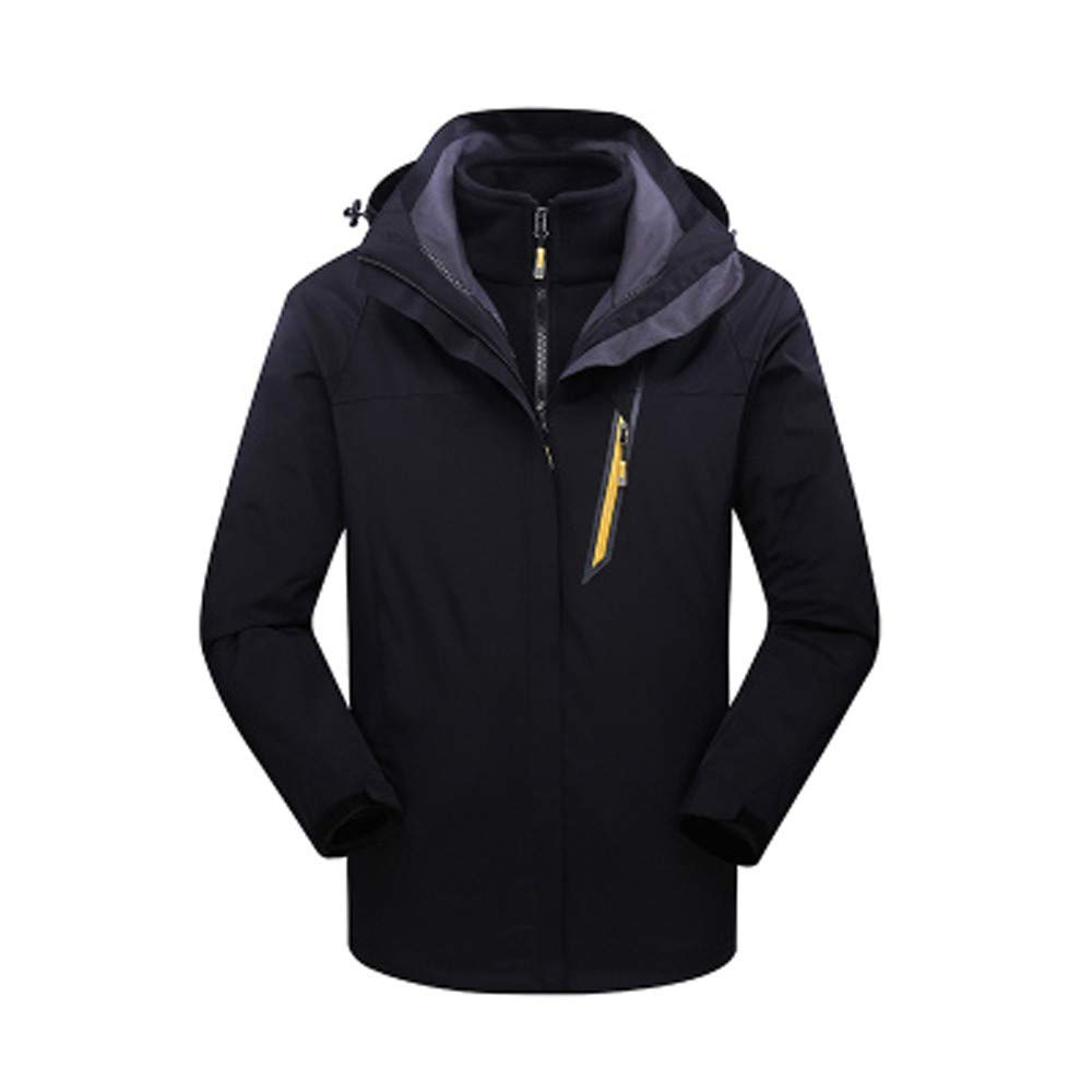 YKARITIANNA Men's Jackets & Coats, Autumn Winter Down & Down Alternative Outdoor Outfit Warm Anorak Skiing Breathable Coat by YKARITIANNA Mens Tops