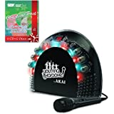 AKAI KS-201 CDG Portable Karaoke Player with Light Effects  amp; Christmas Song Pack
