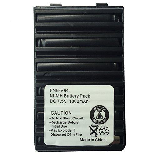 KENMAX 1800mAh Replacement Ni-MH Battery For Yaesu/Vertex...