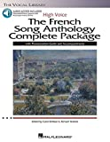 The French Song Anthology Complete Package - High Voice: Book/Pronunciation Guide/Accompaniments High Voice, Book with Online Audio