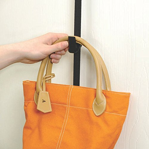ae008dcaf0ff Finders | Purse Rack, 8 Hooks Over the Door Closet Organizer for ...