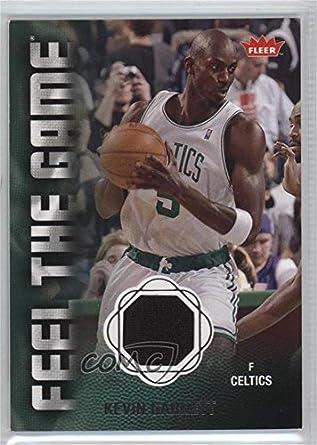 441cefe6c6d8b Amazon.com: Kevin Garnett (Basketball Card) 2008-09 Fleer - Feel the ...