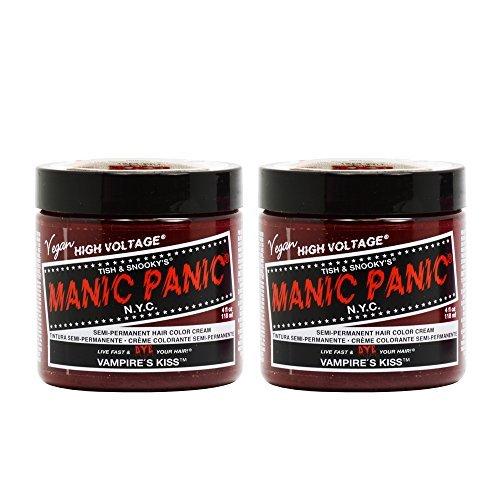 Manic Panic Semi-Permanent Hair Color Cream - Vampire's Kiss 4oz