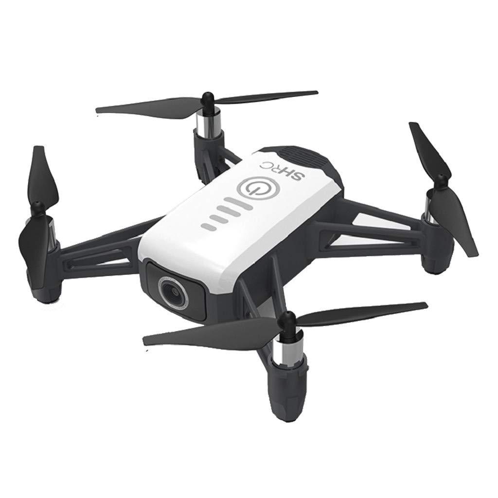 MOZATE SHRC H2 LOCKE 2K WiFi FPV RC Drone Optical Flow Positioning Smart Follow RTF (White)