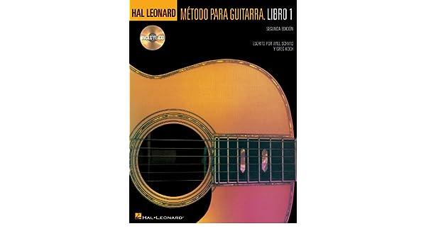 Amazon.com: Hal Leonard Metodo Para Guitarra. Libro 1 - Segunda Edition Softcover with CD (0073999580730): Books