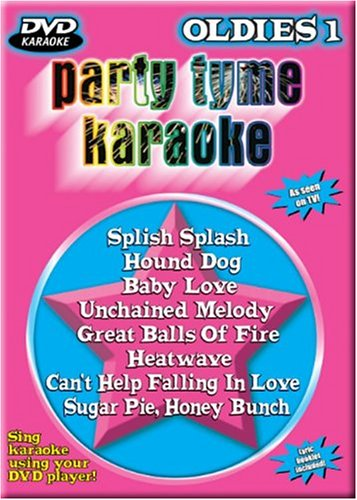Party Tyme Karaoke - Oldies, Vol. 1 (8+8 (Party Tyme Karaoke Dvd)