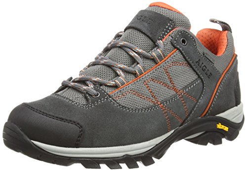 Darkgrey Aigle W Rise Hiking Gore Shoes Papaye Grey Women's tex Low Mooven avUAaqwxH