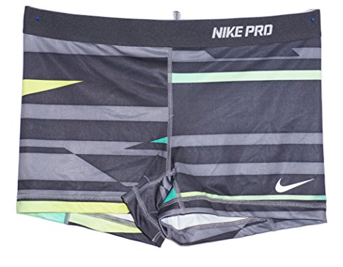 NIKE Women's Pro Core 2.5 Fitted Shorts (XL x One Size) (Short Core Fitted Pro)