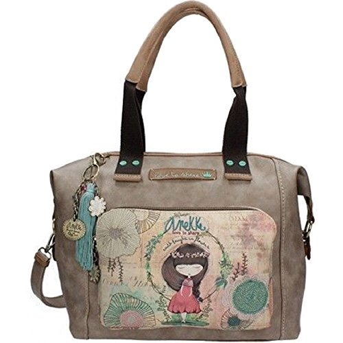 Genuine ANEKKE Handbag, Bowling Bag Shoulder Bag,