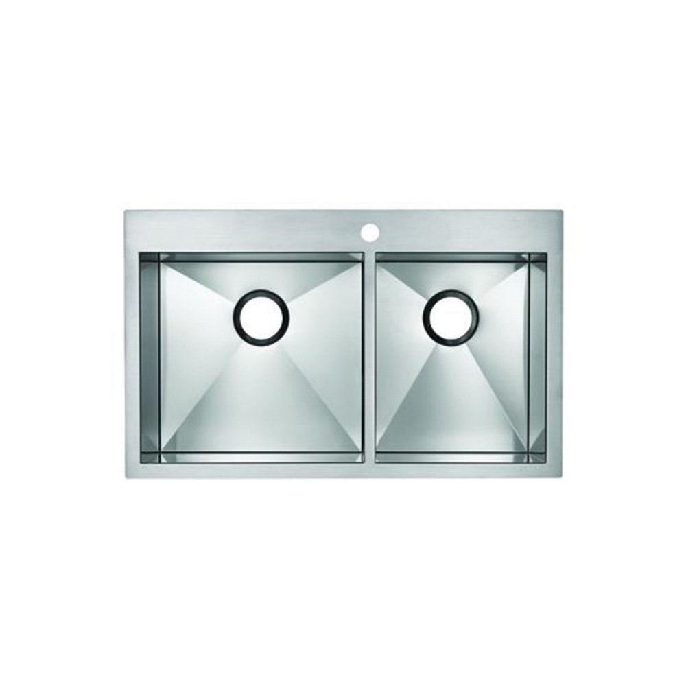 Blanco BL516195 Precision MicroEdge 1-3/4-Inch Bowl Undermount Sink ...