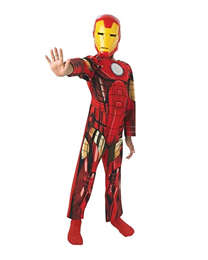 Horror-Shop Traje de los niños clásico de Iron Man S: Amazon.es ...