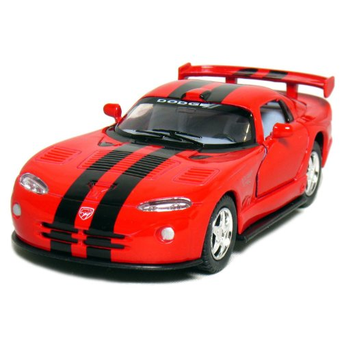 "Kinsmart 5"" Dodge Viper GTR-S 1:36 Scale (Red)"