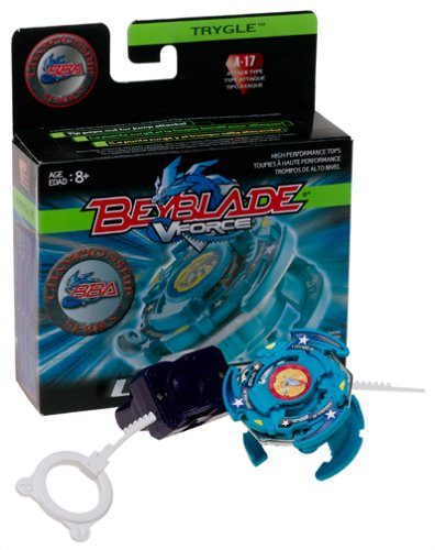 Beyblade VForce: Trygle (Attack Type) High Performance Top with Launcher