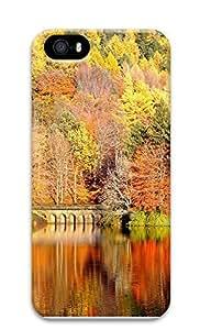 iPhone 5 5S Case Autumn Scenery 3D Custom iPhone 5 5S Case Cover