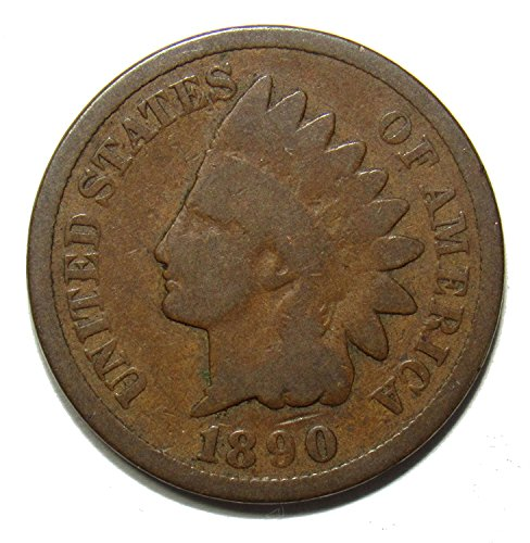 1890 Indian Head Cent 1c VG or Better - One Cent Penny