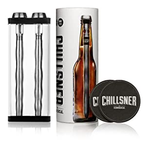 Corkcicle Chillsner Beer Chiller, 2-Pack