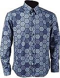 Wecos Dark Knight Joker Costume Hexagon Shirt Vest Tie