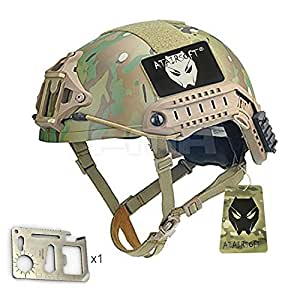 ATAIRSOFT Tactical High Cut XP Military Helmet MC For Airsoft Paintball