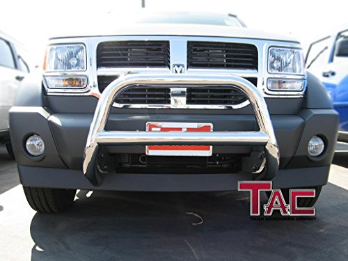 TAC TRUCK ACCESSORIES COMPANY TACDiscontinued Custom Fit 2007-2013 HONDA CRV SPORT BAR Stainless Steel Bumper Brush Guard