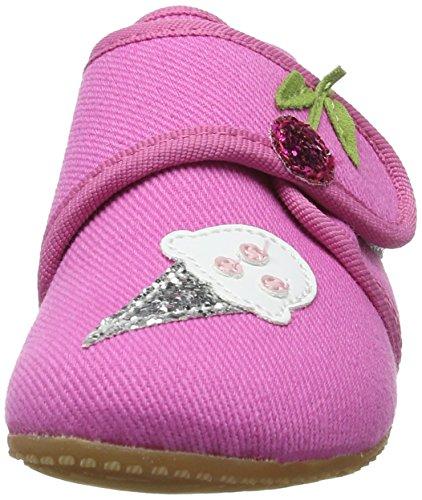 Living Kitzbühel Baby Mädchen Klett Lauflernschuhe Pink (Pink)