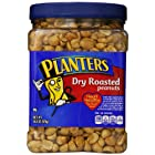 Planters Dry Roasted Peanuts with Pure Sea Salt, 34.5 Ounce