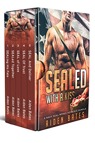 SEALed With A Kiss: A Navy Seal Mpreg Romance Bundle