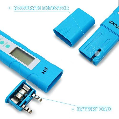Digital Ph Meter Vantakool Ph High Accuracy Pocket Size Ph Meter Ph Tester With 0 14 0