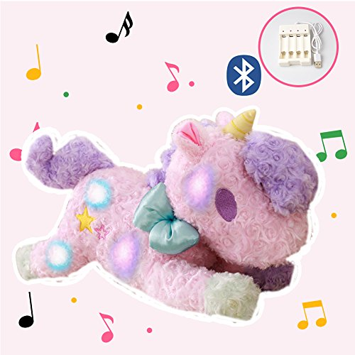 "Electric Stuffed Unicorn Toy, 22"" Night Light Light Up Magic"