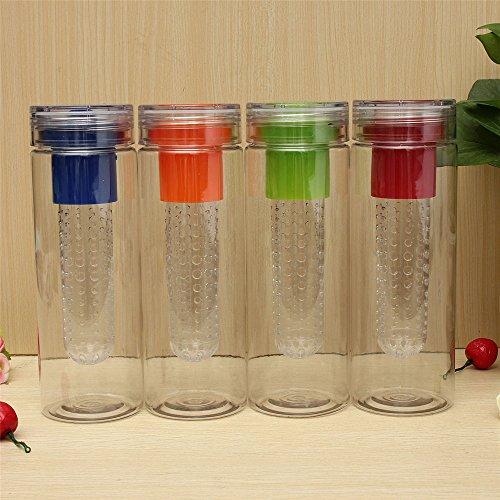 NYKKOLA 800ML Sports Health Fruit Infusing Infuser Water Bottle Lemon Juice Cup