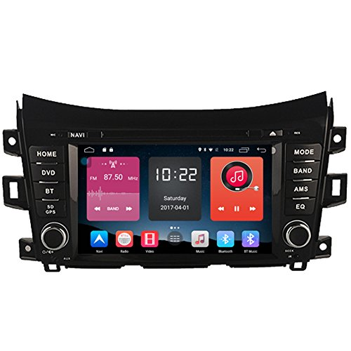Autosion In Dash Android 6.0 Car DVD Player Sat Nav Radio Headunit GPS Navigation for Nissan NP300 2014-2017 Nissan Navara 2014-2017 Renault Alaskan 2014-2017 Bluetooth SD USB Radio WIFI DVR 1080P For Sale