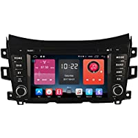 Autosion In Dash Android 6.0 Car DVD Player Sat Nav Radio Headunit GPS Navigation for Nissan NP300 2014-2017 Nissan Navara 2014-2017 Renault Alaskan 2014-2017 Bluetooth SD USB Radio WIFI DVR 1080P