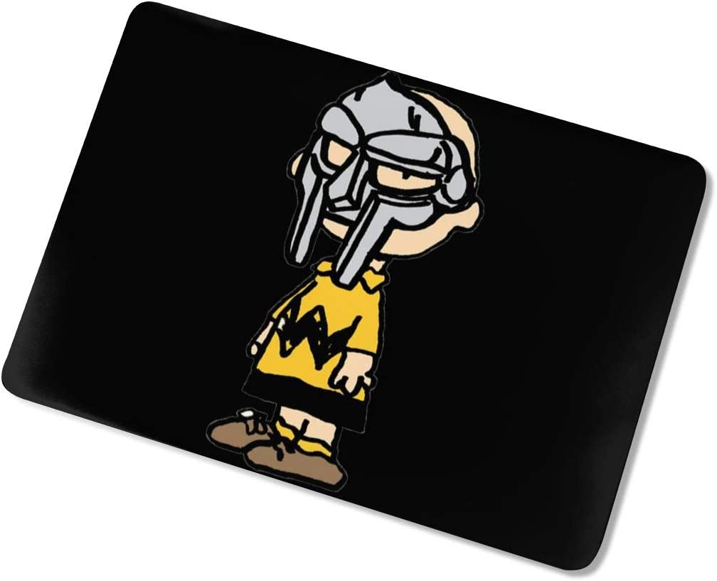 Dfmdfng MF Doom Creative Pattern Rubber Coated Protective Cover Hard Case for Apple Laptop touch13