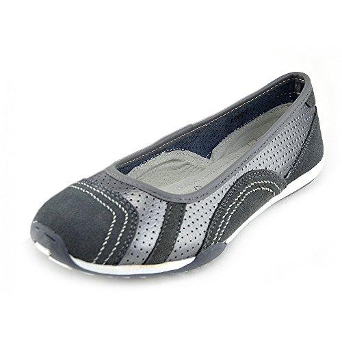 Kick Footwear - Damen Leder bequem Schuhe Damen bequeme neue Schuhe, flache Schuhe Zinn