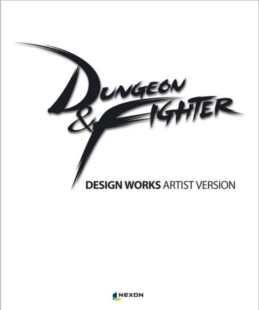 Read Online Dungeon & Fighter Design Works Game Art Book Artist ver Illustration Collection + 1 Free Gift Giraffe Bookmark ebook