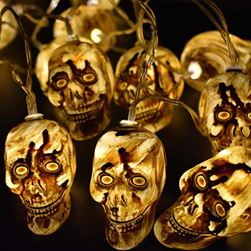AIRERA Halloween Skull string light Decorations