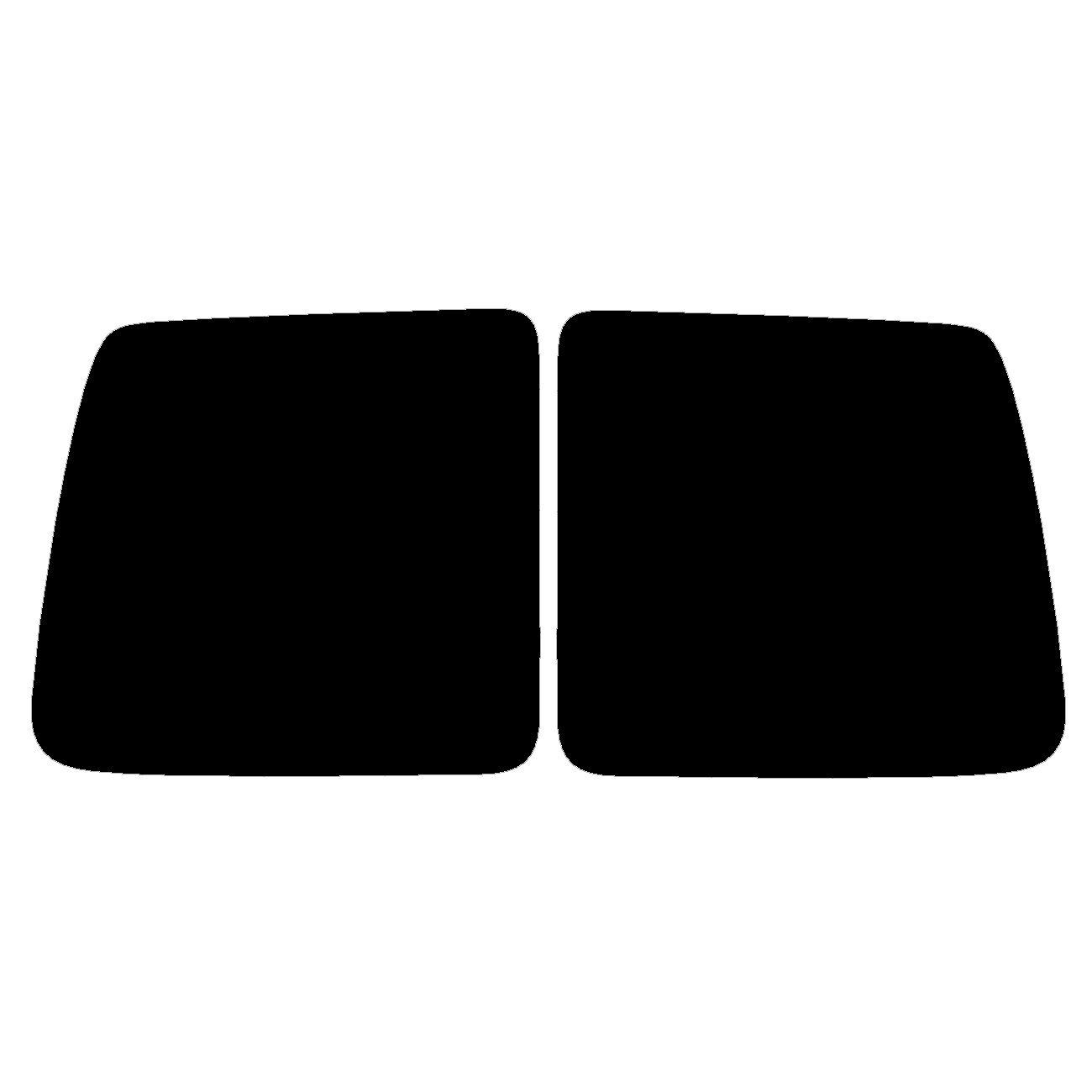 Pre cut window tint 1998 to 2007 Citroen Berlingo Van Rear windows 35/% Light Smoke