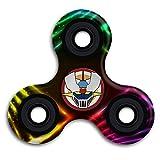 SHALLTOY Mazinger Z Cool Tri-Spinner Hand Toy Finger Gyro Fidget Spinner Stress Reducer Toys