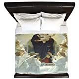 CafePress - Mother Mary - King Duvet Cover, Printed Comforter Cover, Unique Bedding, Microfiber