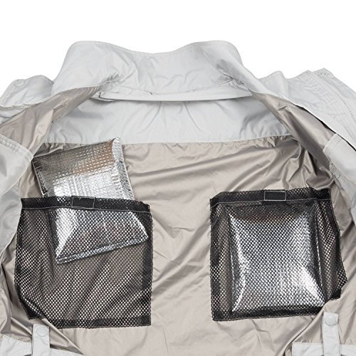 Makita DFJ405Z3XL 18V LXT Reflective Fan Jacket, 3X-Large by Makita (Image #7)