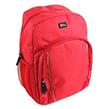 High Quality Water-Resistant Bright Red Compact Backpack for the Eachine Racer 250 - by DURAGADGET