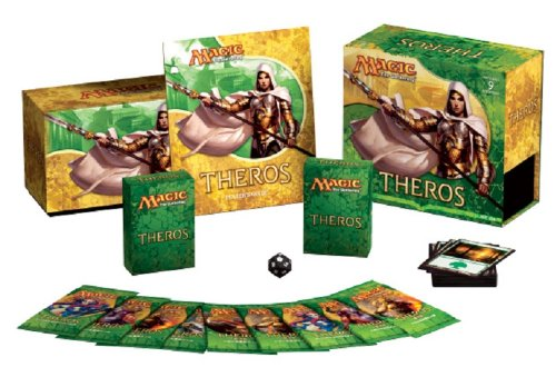 Magic: the Gathering - Theros - Sealed Fat Pack (9 Booster Packs & More) by Wizards of the Coast
