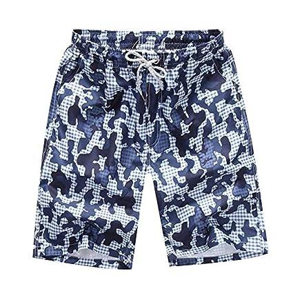 30b7154129 Plus Size Swimwear Men Swim Shorts Swimming Trunks Bermuda Surf Beach Short  Sport Homme Swimsuit zwembroek Heren Sunga 4XL 3XL:HB00055, M: Amazon.in:  Sports ...