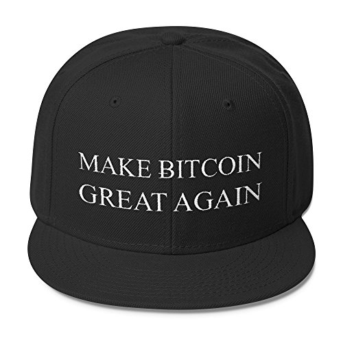 Make Bitcoin Great Again Hat - Otto Wool Blend Snapback