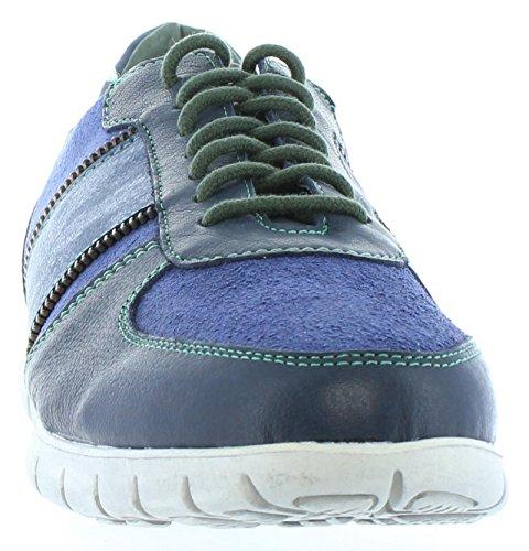 Schuhe für Herren SLOWWALK 10009PF BUFALO SERRAJE NAVY