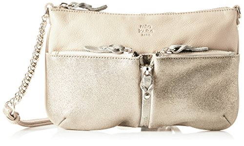 Mila Louise Ilef Spark Shoulder Bag-Beige