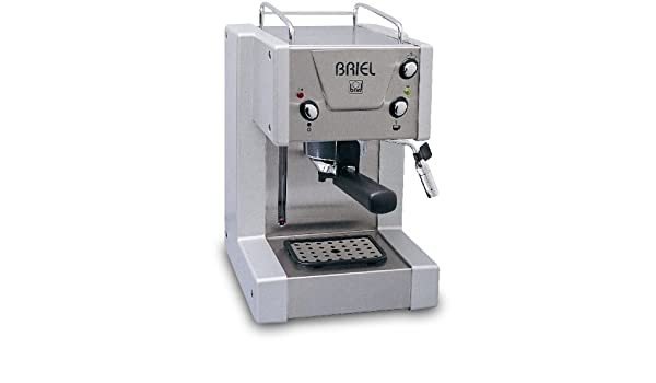 Briel Cafetera expreso Mini Pro Plateado ES150: Amazon.es: Hogar